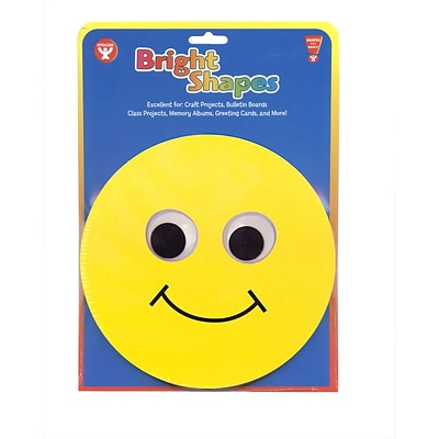 Hygloss 6 Classroom Accents; Smiley Face, 5/Pack