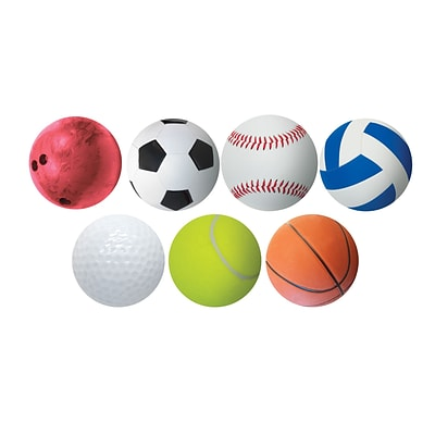 Hygloss 6 Classroom Accents; Sports, 5/Pack