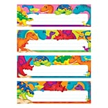 Trend Enterprises® Desk Toppers® Name Plate Variety Pack, Dino-Mite Pals, 32/Set