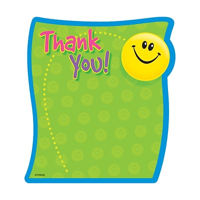 Trend Enterprises® Note Pad; Thank You, 8/Pack