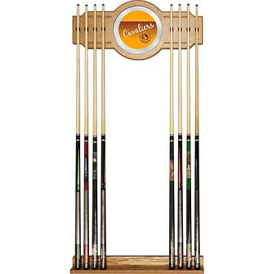 Trademark Global NBA NBA6000HC-CC Cue Rack with Mirror; Cleveland Cavaliers