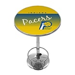 Trademark Fine Art NBA NBA2000HC-IP 42 Metal Chrome Pub Table; Indiana Pacers