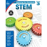 Carson-Dellosa Applying the Standards STEM Workbook for Grade 3