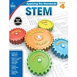 Carson-Dellosa Applying the Standards STEM Workbook for Grade 4