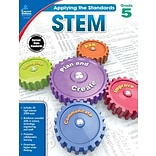 Carson-Dellosa Applying the Standards STEM Workbook for Grade 5