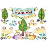 Carson-Dellosa Owl Pals Bulletin Board Set, 41 Pieces/Set