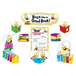 Carson-Dellosa Buzz Worthy Bees Reading Bulletin Board Set, 45 Pieces/Set