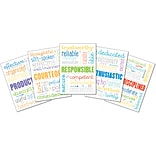 Carson-Dellosa Positive Behavior Bulletin Board Set, 12 Pieces/Set