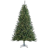 Vickerman Kennedy 7.5 Green Fir Artificial Christmas Tree w/ 500 Dura-Lit Clear Lights w/ Stand