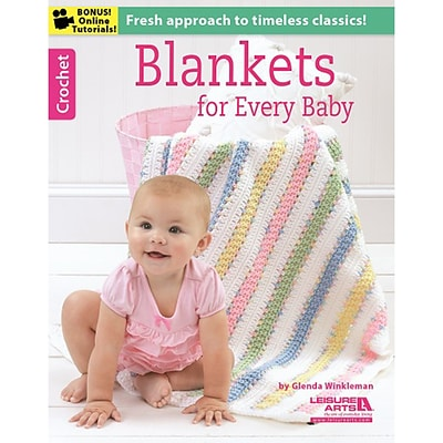 Leisure Arts LA-6368 Blankets For Every Baby