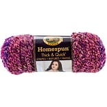 Lion Brand 160 yards Homespun Thick & Quick Sunset Stripes