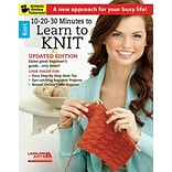 Leisure Arts LA-6395 10 20 30 Minutes To Learn To Knit