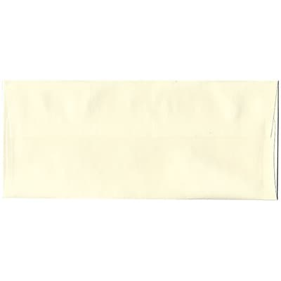 JAM Paper® #10 Business Envelopes, 4 1/8 x 9 1/2, Strathmore Natural White Wove, 1000/carton (34992B)
