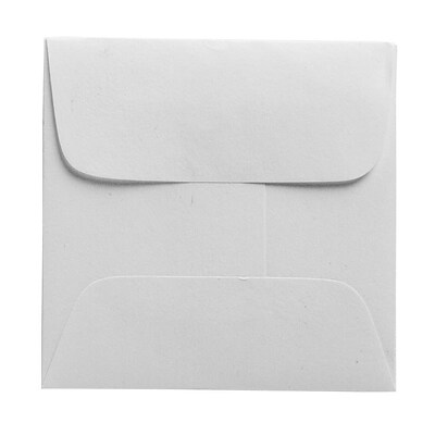 JAM Paper® 2 3/8 x 2 3/8 Mini Square Envelopes, White, 250/box (203642H)