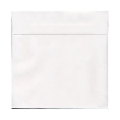 JAM Paper® 13.5 x 13.5 Large Square Envelopes, White, 50/pack (3992323I)