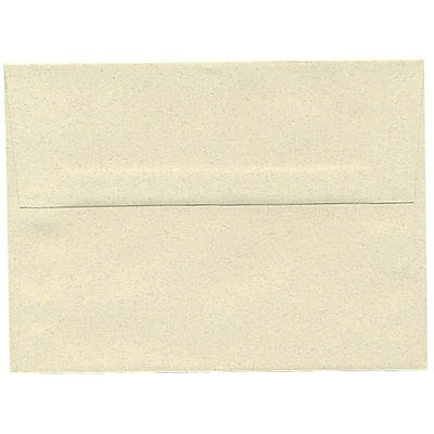 JAM Paper® A6 Invitation Envelopes, 4.75 x 6.5, Gypsum Ivory Recycled, 250/box (41346H)