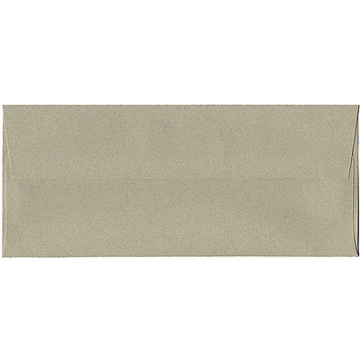 JAM Paper® #10 Business Envelopes, 4 1/8 x 9 1/2, Sage Green Recycled, 250/box (49306H)