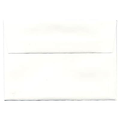 JAM Paper® 4bar A1 Envelopes, 3 5/8 x 5 1/8, Strathmore Bright White Wove, 50/pack (900928601I)