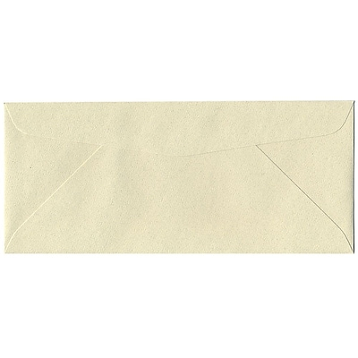 JAM Paper® #10 Business Envelopes, 4 1/8 x 9 1/2, Gypsum Recycled, 500/box (9222H)