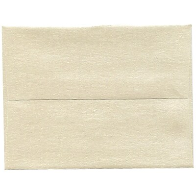 JAM Paper® A2 Invitation Envelopes, 4 3/8 x 5 3/4, Stardream Metallic Opal, 250/box (GCST600H)