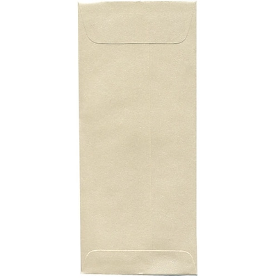 JAM Paper® #10 Policy Envelopes, 4 1/8 x 9 1/2, Stardream Metallic Opal, 50/pack (V018293I)