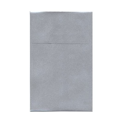 JAM Paper® A10 Policy Envelopes, 6 x 9.5, Stardream Metallic Silver, 250/box (V018303H)