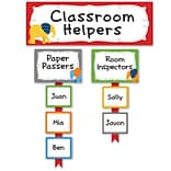 Carson-Dellosa Parade of Elephants Classroom Management Bulletin Board Set, 53 Pieces/Set