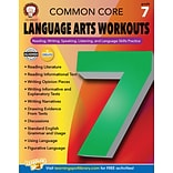 Mark Twain Common Core Language Arts Workouts Resource Book for Grade 7
