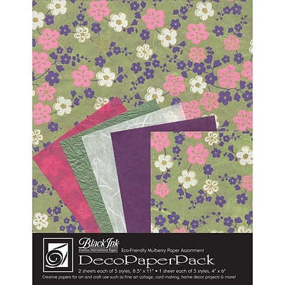 Graphic Products Decorative Paper Pack 11 x 8.5 inch, Sakura
