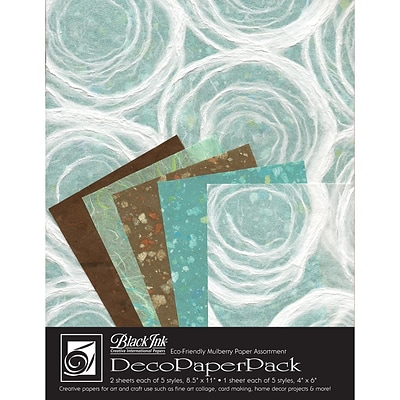 Graphic Products Decorative Paper Pack 11 x 8.5 inch, Whimzy
