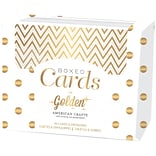 ACrafts A2 Golden Gold Cards & Envelopes