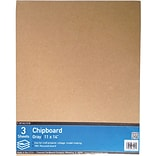 Cardboard Co. Brown Crescent Chipboard