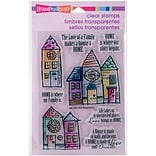 Stampendous Family Home Clear Stamps