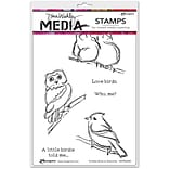 Scribbly Bird on Branche Media Clng Stmp