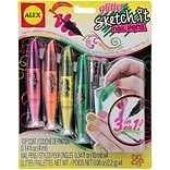 Alex Toys Sketch It Glitter Nail Pens