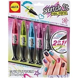 Alex Toys Sketch It Nail Pens, Hot Hues