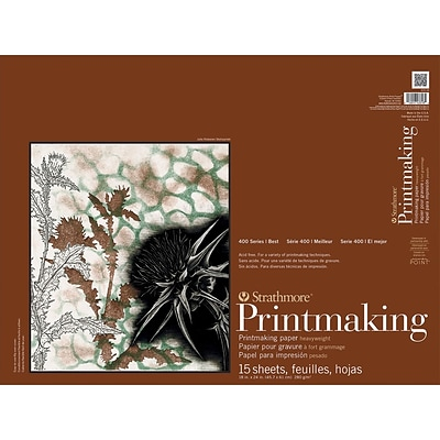 Strathmore Printmaking 18 x 24 inch Paper Pad