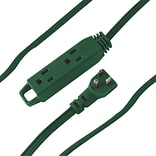 AXIS® 3-Outlet Indoor Extension Cord, 8, Green