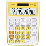 Casio® MS-10VC 10-Digit Standard Function Desktop Calculator, Yellow