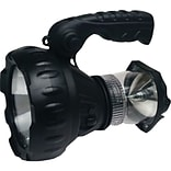 GSM Cyclops LED Rechargeable Lantern/Spotlight Combo, 140 Lumens, 3 W, Black