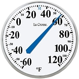 La Crosse Technology® Indoor/Outdoor Round Thermometer, 13 1/2