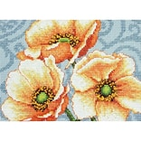 Dimensions 70-65139 Multicolor 5 x 7 Mini Counted Cross Stitch Kit, Windflowers