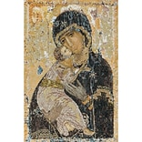 Thea Gouverneur TG531A Multicolor 13 x 8.75 Our Lady Of Vladmir On Aida Counted Cross Stitch Kit