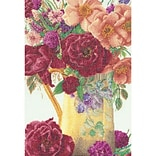 Thea Gouverneur TG3019A Multicolor 13.5 x 9.5 Rose Bouquet On Aida Counted Cross Stitch Kit