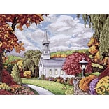 Tobin DW2592 Multicolor 9 x 12 Fall Inspiration Counted Cross Stitch Kit
