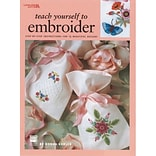 Leisure Arts LA-1957 Teach Yourself To Embroider