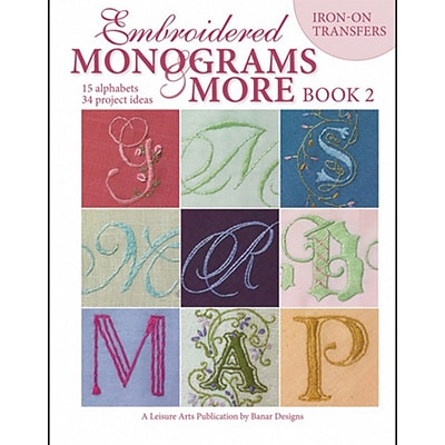 Leisure Arts LA-4366 Embroidered Monograms & More 2