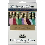 DMC 117F25-NP27 8.7 yards Limited Edition Embroidery Floss Pack, 27/Pack