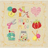 Dimensions 72-74053 Multicolor 6 x 6 Amy Powers Embroidery Sampler Kit, Handmade