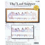 Tobin DW2532 White 9 x 24 Last Supper Stamped Embroidery Kit